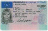Beglaubigte Übersetzung von Führerschein